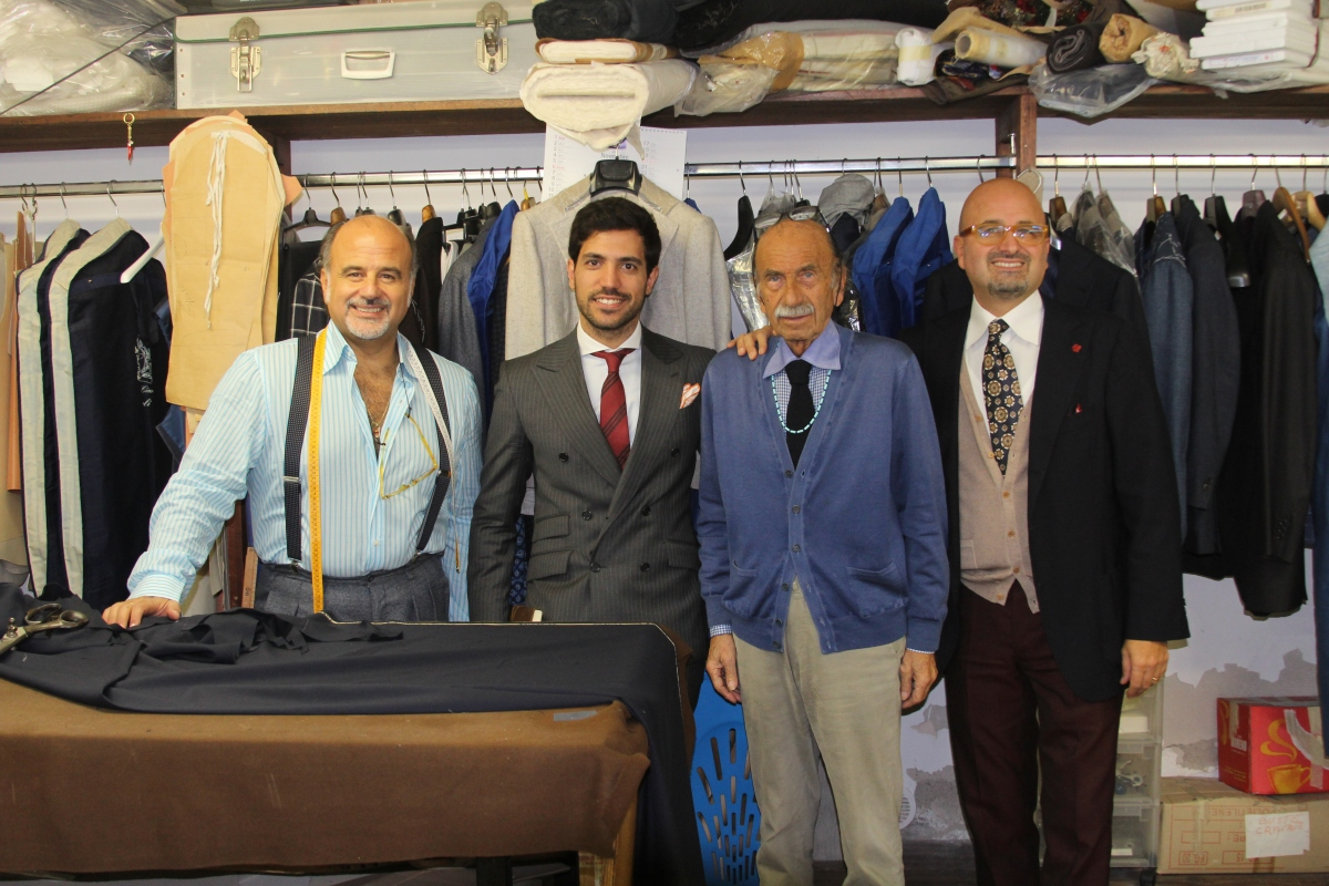 "Sartoria Ciardi: ""craftsmanship is a family thing"""